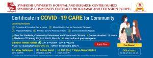 covid 19 care community at SSI Pune